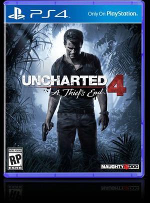 Playstation gb UNCHARTED 4 nuevas en caja!!