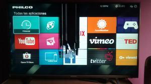 Smart tv led 40 Philco pantalla rota