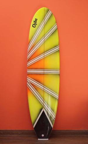 TABLA DE SURF FUNBOARD 7'4 IDEAL PRINCIPIANTES!
