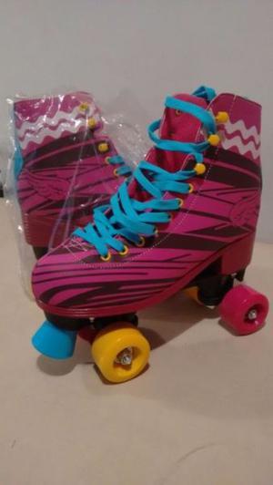 patines tipo bota de Soy Luna sin uso, originales Son talle