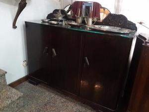 ANTIGUO MUEBLE BAHIUT ESTILO ART DECO TAL