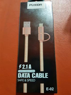Cable usb para iPhone y samsung