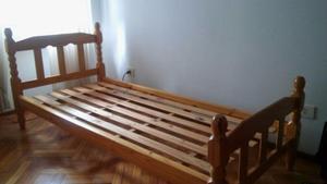 cama de una plaza de pino posot class On cama una plaza
