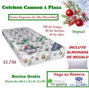 Colchon Tropical Cannon 1 PLAZA