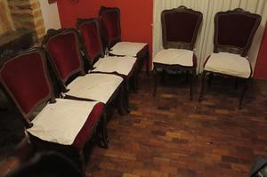 Liquido urgente muebles! Sillas estilo francés a restaurar!