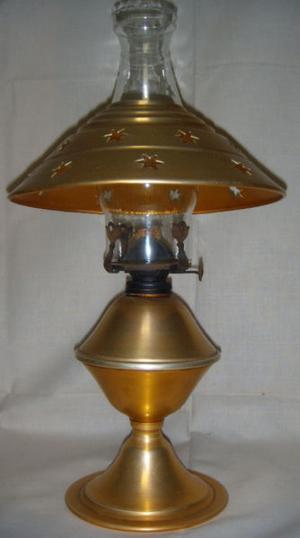 Lámpara De Kerosene Con Mecha De Algodón - Moda Retro