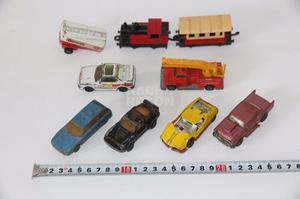 Lote Autos Miniatura Autitos Marca Matchbox Tren Y Otros