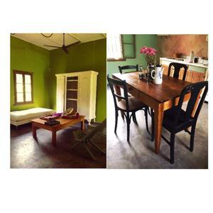 vendo mesa de pinotea y mesa ratona