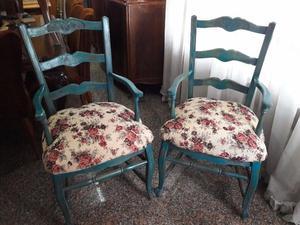 Juego de sillones antiguos estilo provenzal posot class - Sillones de estilo ...
