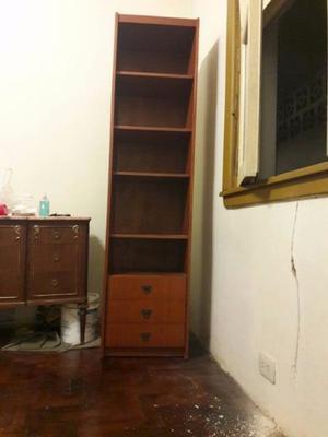 Biblioteca Madera Con 5 estantes 3 Cajones MUY ESPACIOSA