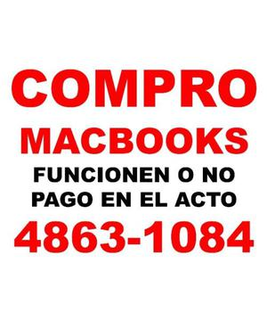 COMPRO MACBOOKS Y IPADs,, ¡¡¡FUNCIONEN O NO!!!