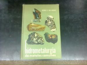 Hidrometalurgia De Metales Comunes - Van Arsdale