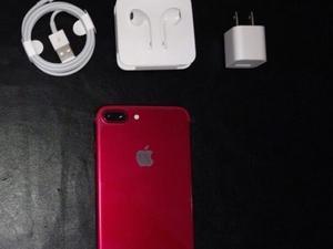 IPhone 7plus rojo edición limitada 128GB