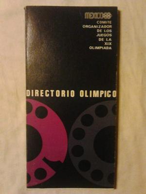 Juegos Olimpicos Mexico  Directorio Olímpico