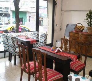 MESAS Y SILLAS PARA CAFE, AIRE WATS FREEZER HELADERA