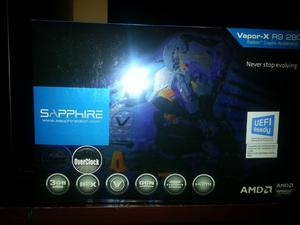 """Placa de video AMD Sapphire Rx 3GB"""