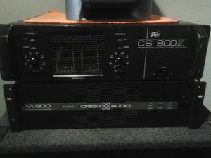 Potencia Peavye Sc-800x Crest Vs-900