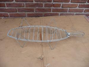 Practica parrilita para hacer un pescado a la parrilla
