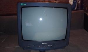 TELEVISOR SAMSUNG 21 PULGADAS CON CONTROL REMOTO
