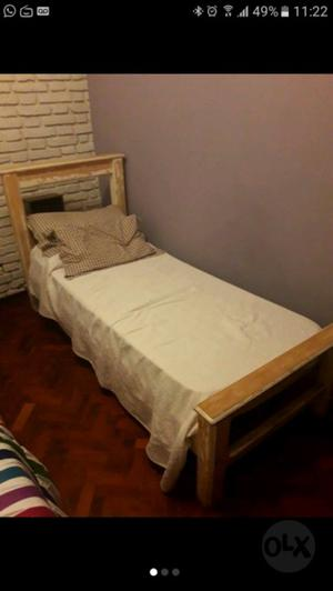 Vendo cama con colchon nuevo