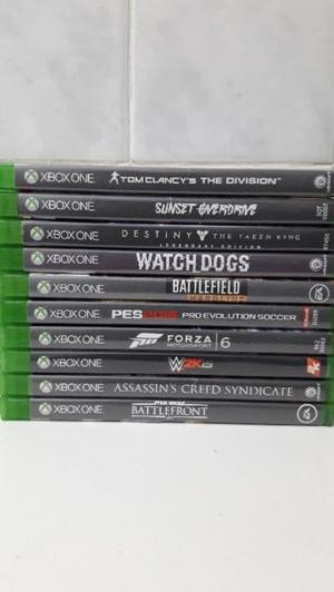 Vendo juegos de xbox one!!2 juegos a eleccion por $