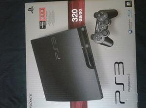 Playstation 3 de 320 gb y juegos