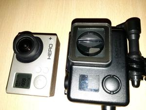 Gopro hero 3+silver. Baston selfie. Camara sellada
