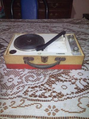 Toca disco portatil