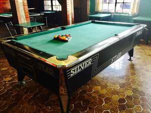 Vendo Mesa De Pool Silver Star Muy Buena!!!