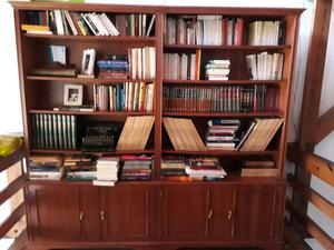 Biblioteca de cedro