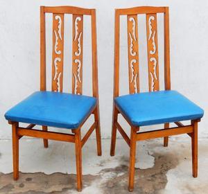 El Restaurador - Par de sillas de diseño Retro Vintage