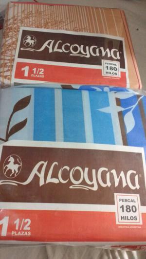 Juego de sábanas Alcoyana 1 1/2 plaza