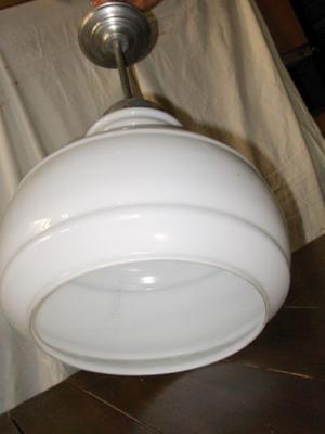 LAMPARA COLGANTE BLANCA