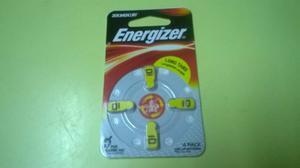 Pilas Boton Energizer Dp 10 Para Audifono Pack 4 Unidades