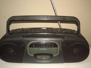 Radio Grabador Con Cassetera. Casio SD 202S funcionando
