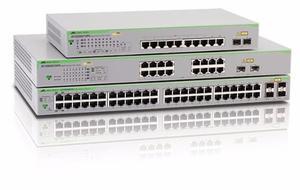 Switch Allies Telesis At-gspoe-50 8 Port Giga 2 Sfp