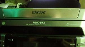 Vendo Equipo SONY MHC BX3/MHC DX3 MINI HI-FI COMP System