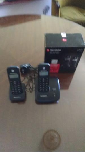 Vendo teléfono inalámbrico dúo