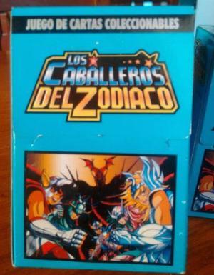 juego de cartas coleccionables los caballeros del zodiaco