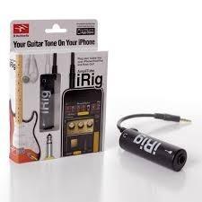 Irig 1 Interfaz De Guitarra Y Bajo Para Ipad Iphone Ipod