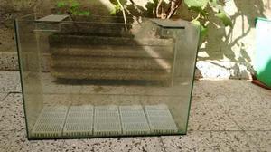 Pecera Completa Con Aireador, Piedras Y Filtros.