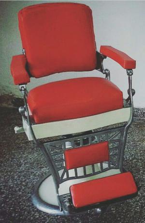 Vendo sillón de barbería antiguo