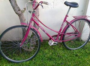 bicicleta de paseo de mujer tipo inglesa marca caloi