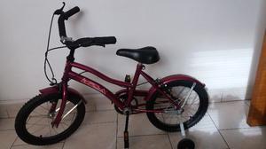 Bicicleta de niño/a Mila rodado 16
