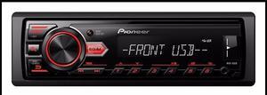 Estereo Pioneer Mvh-85ub Usb Y Aux Radio Am/fm. En La Plata