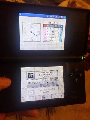 Liquido Nintendo Ds Lite + Juego Y Cargador 220v Original