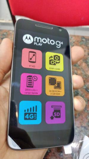 Motorola moto g4 play 2gb 16gb 4g vidrio templ.nuevos libres