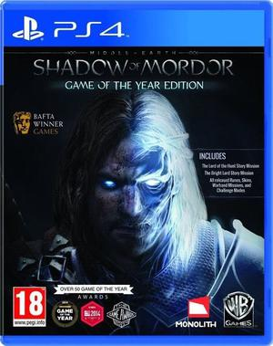 Shadow of Mordor Game of Year Edition