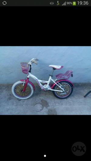 Vendo Bicicleta de Nena Raleigh
