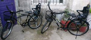 Vendo bicicletas playeras rod 26